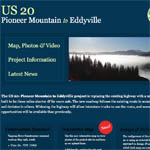 A small preview of the appearance of the US 20 PME website